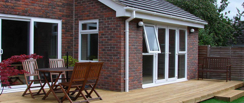 extension and patio