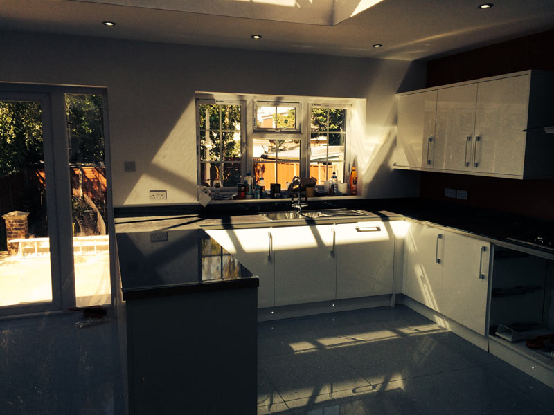 New fitted kitchens by ABS