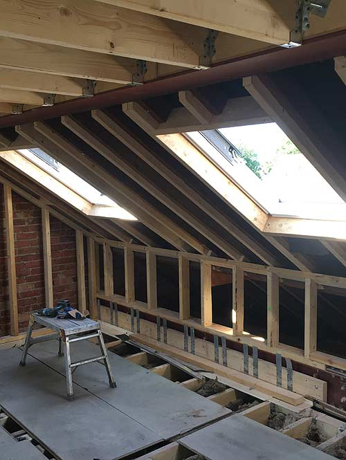 firm specialising in loft conversions and home extensions