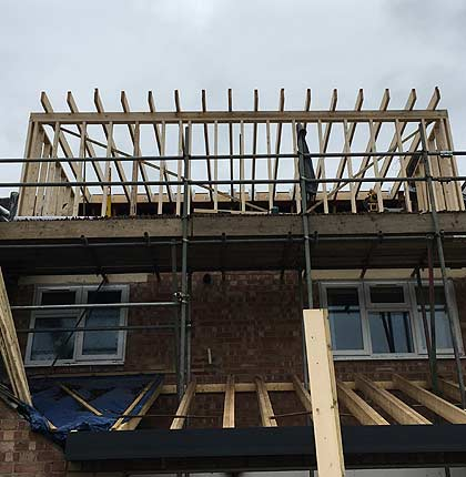 Loft conversions by Alterntaive Building Services Hampshire