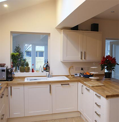 New fitted kitchens built by ABS