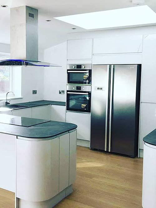 firm specialising in new kitchens